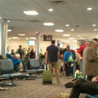 Photo taken at Concourse A by Kurt v. on 3/30/2013