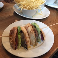 Photo taken at Gourmet Burger Kitchen by ibrahim a. on 10/17/2014