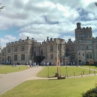 Photo taken at Warwick Castle by Massimiliano G. on 6/8/2013
