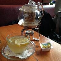 Photo taken at Cafe Bi-Melek by Filiz S. on 3/5/2013