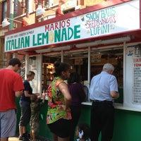 Photo taken at Mario's Italian Lemonade by Sahithya B. on 8/24/2013