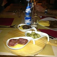 Photo taken at Osteria Dal Conte by Mattia G. on 1/24/2013