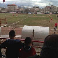 Photo taken at Sarıgöl Arena by İbrahim D. on 1/20/2013