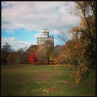 Photo taken at Endale Arch - Prospect Park by Michele M. on 11/21/2013