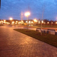Снимок сделан в Спортивно-досуговый парк «Красная Пахра» пользователем Ярослава М. 11/10/2013