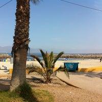 Photo taken at Playa Trocadero by Natalia C. on 1/19/2013