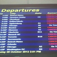 Photo taken at Gate A5 by Paul L. on 10/29/2012