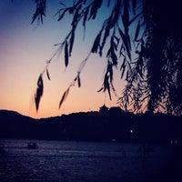 Photo taken at 昆明湖 Kunming Lake by katrina L. on 10/2/2013