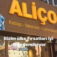 Das Foto wurde bei Aliço İskender Lahmacun von Gaffar A. am 3/20/2018 aufgenommen