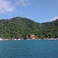 Photo taken at Playa Puerto Francés by Gaby C. on 12/28/2014