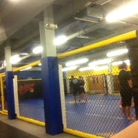 Photo taken at Roufusport MMA Academy by Johnny D. on 3/26/2013
