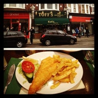 Photo taken at Toffs Fish & Chips by Latanya P. on 10/5/2012