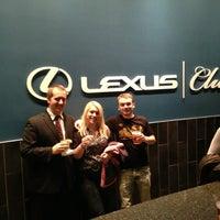 Photo taken at Lexus Club by Erik on 11/16/2013