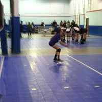 Photo taken at Volleyball Institute of Plano by Irene Gonzales Y. on 2/16/2013