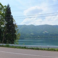 Photo taken at 青木湖 by meiyun on 5/30/2013