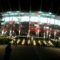 Photo taken at PGE Narodowy by Michał J. on 5/18/2013