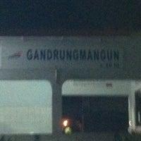 Photo taken at Stasiun Gandrungmangun by Rony S. on 1/27/2013