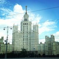 Photo taken at Bolshoy Ustyinsky Bridge by Chenchik A. on 7/23/2013