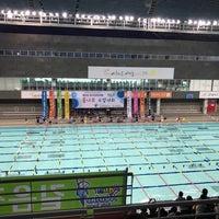 Photo taken at 고양종합운동장 실내체육관 수영장 by MK O. on 4/30/2017