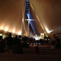 Photo taken at Iglesia San Josemaria by Veronica A. on 2/3/2013