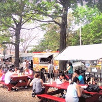 Photo taken at Red Hook Ballfield Food Vendors by Natalia R. on 9/1/2013