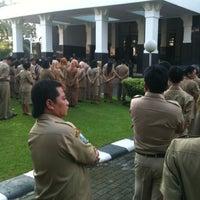 Photo taken at Kantor Gubernur Jawa Timur by Nita A. on 6/3/2013