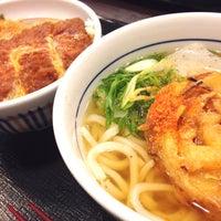 Photo taken at なか卯 金沢駅西本町店 by NobuMatsu on 8/31/2014