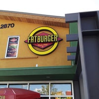 Photo taken at Fatburger by Rick F. on 4/19/2013
