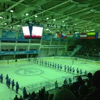 Photo taken at Ледовый дворец by Anton P. on 1/6/2013