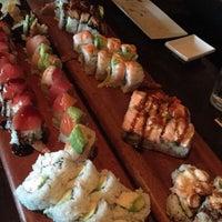 Photo taken at Okura Robata Sushi Bar and Grill by Beba B. on 8/29/2017