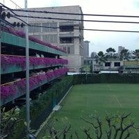 Photo taken at RBSC Tennis Court by Misha S. on 1/27/2013