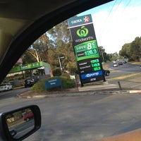 Photo taken at Woolworths Caltex by Jayde P. on 2/8/2013