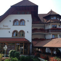 Photo taken at Hotel Ludinmuehle by Ole on 7/23/2013