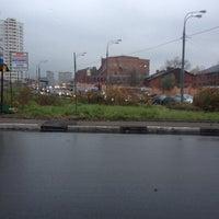 Photo taken at Богатырский мост by Antonio K. on 10/16/2013