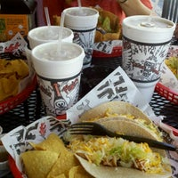 Photo taken at Tijuana Flats by Ted on 10/16/2012