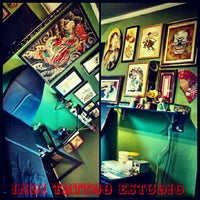 Photo taken at Indi Tattoo by Japa I. on 5/22/2014