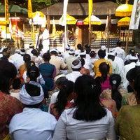 Photo taken at Pura Dalem Khayangan Kedaton by gungwah u. on 9/18/2012