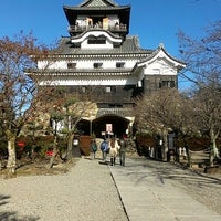 Photo taken at Inuyama Castle by saho on 1/4/2013