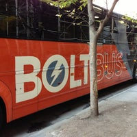 Photo taken at BoltBus Midtown Stop by Jia-Rong L. on 10/2/2013