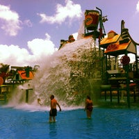 Photo taken at Fasouri Watermania Waterpark by Natalie G. on 5/13/2013