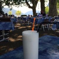 Photo taken at Antica Osteria Del Porto by Rahel on 6/24/2014