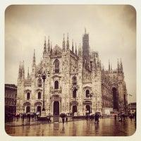 Photo taken at Milan Cathedral by Yuliya E. on 3/30/2013