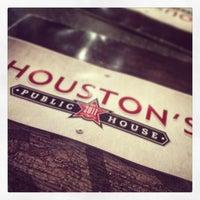 Photo taken at Houston's Pub by Richard W. on 4/11/2014
