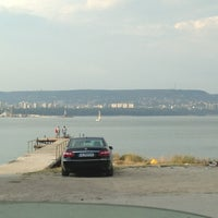 Photo taken at Плаж Аспарухово (Asparuhovo beach) by Ani F. on 7/12/2013