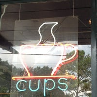 Photo taken at Cups, an Espresso Café by Shay T. on 8/17/2013
