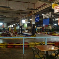 Photo taken at Karting Colonia by Andres German M. on 5/9/2013