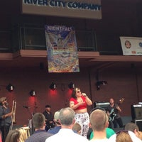 Photo taken at Nightfall Concert Series by Julie B. on 6/21/2014