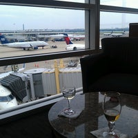 Photo taken at Delta Sky Club by Joshua M. on 7/10/2013