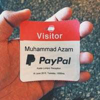 Photo taken at PayPal Malaysia Services Sdn. Bhd. by Azam B. on 6/16/2015
