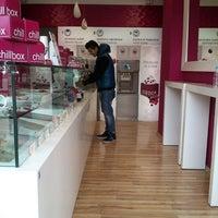 Photo taken at chillbox frozen yogurt by Κοs L. on 3/25/2013
